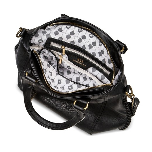 Women's Borsani Satchel Handbag - Black : Target