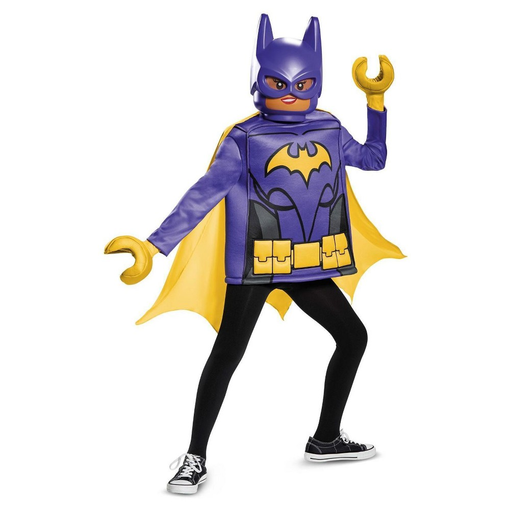 Batgirl Lego Movie Classic Kids Costume Large (10-12), Girls, Purple