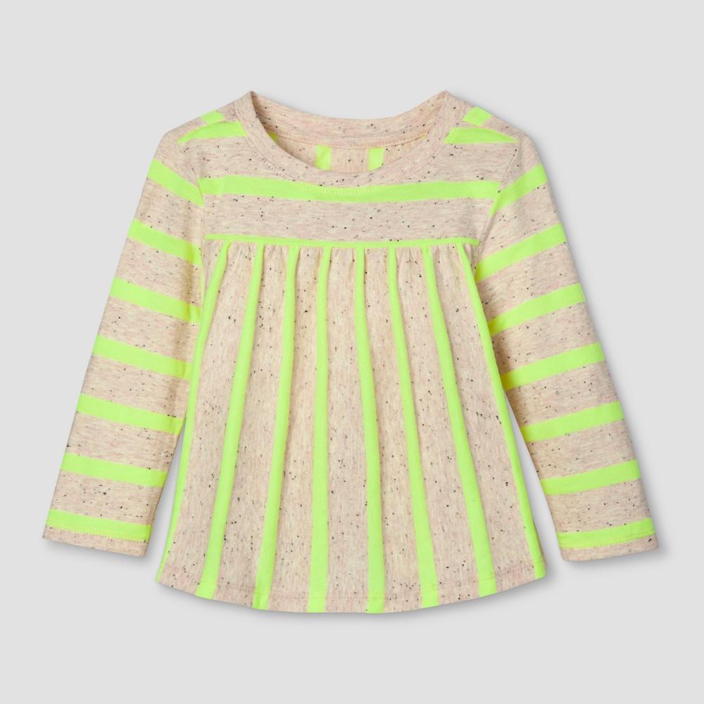 Toddler Girls T-Shirt - Cat & Jack Superb Yellow 5T