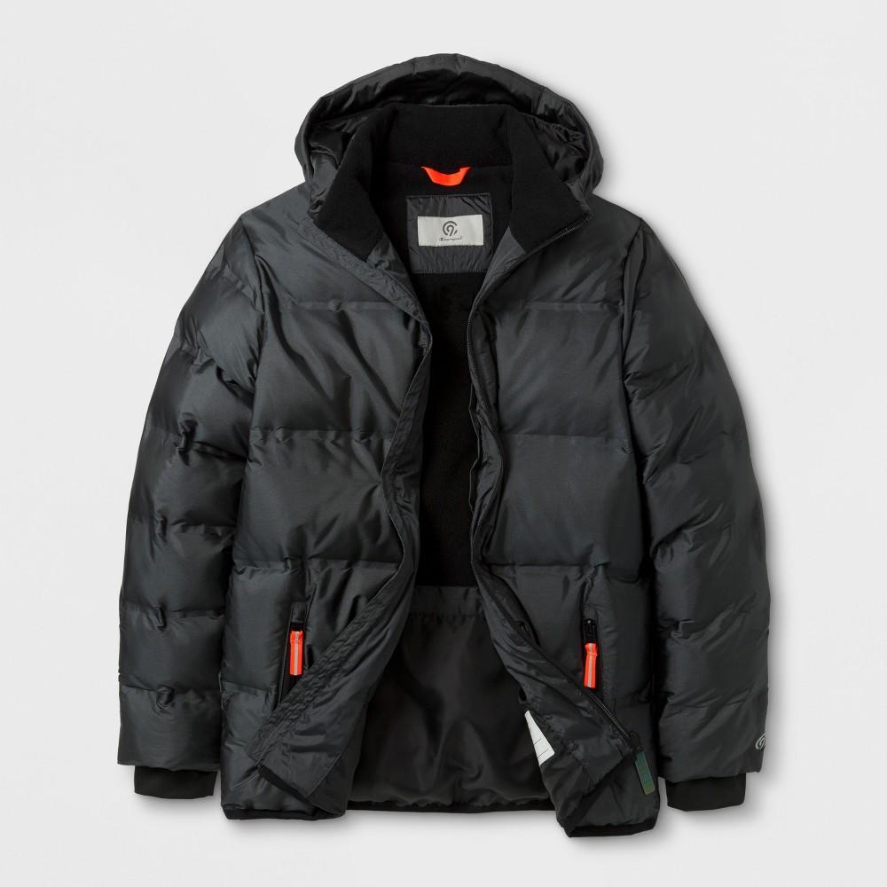 Boys Puffer Jacket - C9 Champion Iridescent/Railroad Gray XL