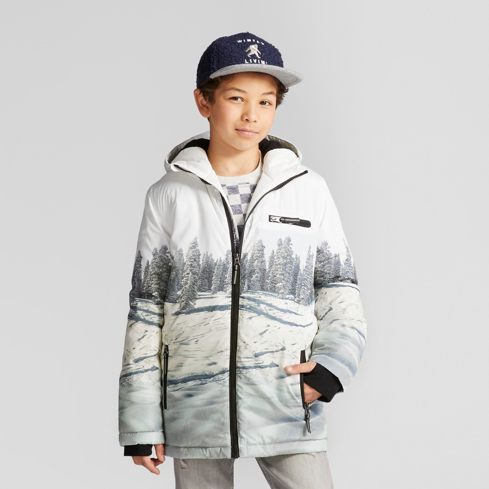 Boys Parka Jacket - Cat & Jack Nightfall Blue XL