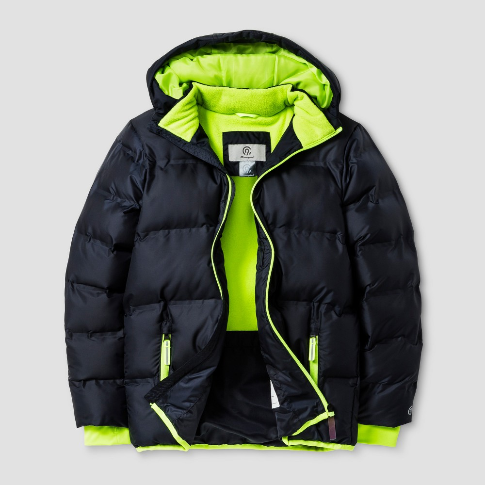 Boys Puffer Jacket - C9 Champion Green L