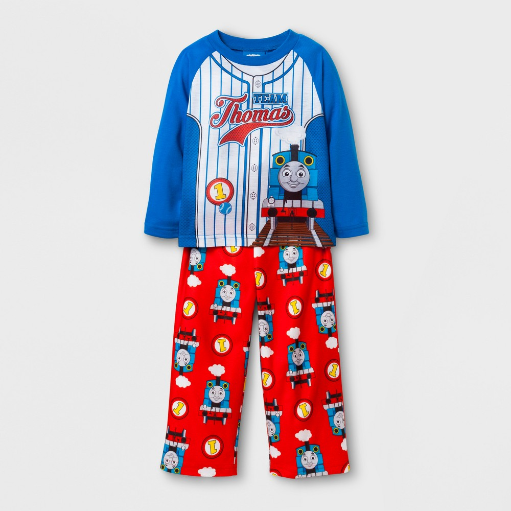 Toddler Boys Thomas & Friends 2-Piece Pajama Set - Blue 4T
