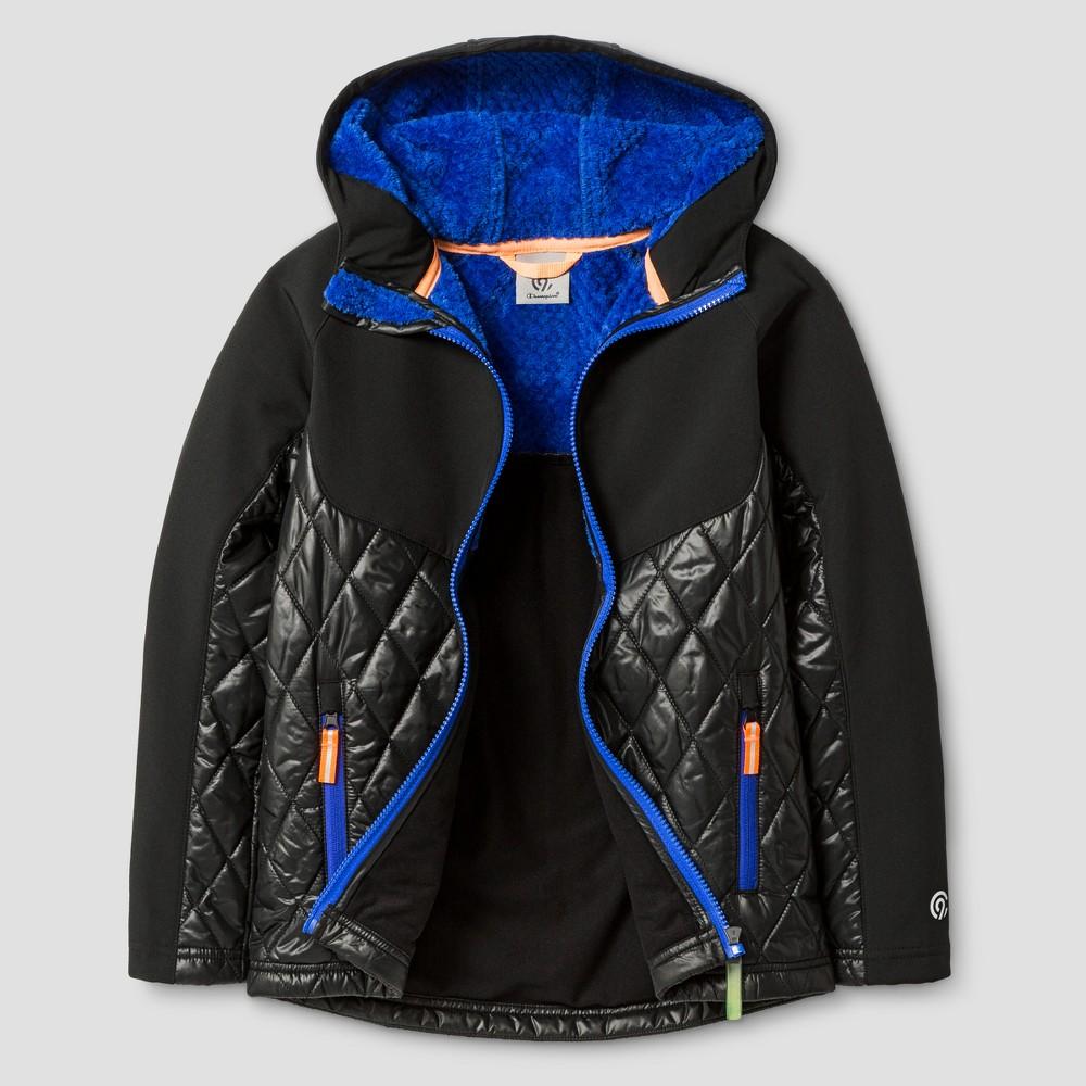Boys Softshell/Puffer Jacket - C9 Champion Black L