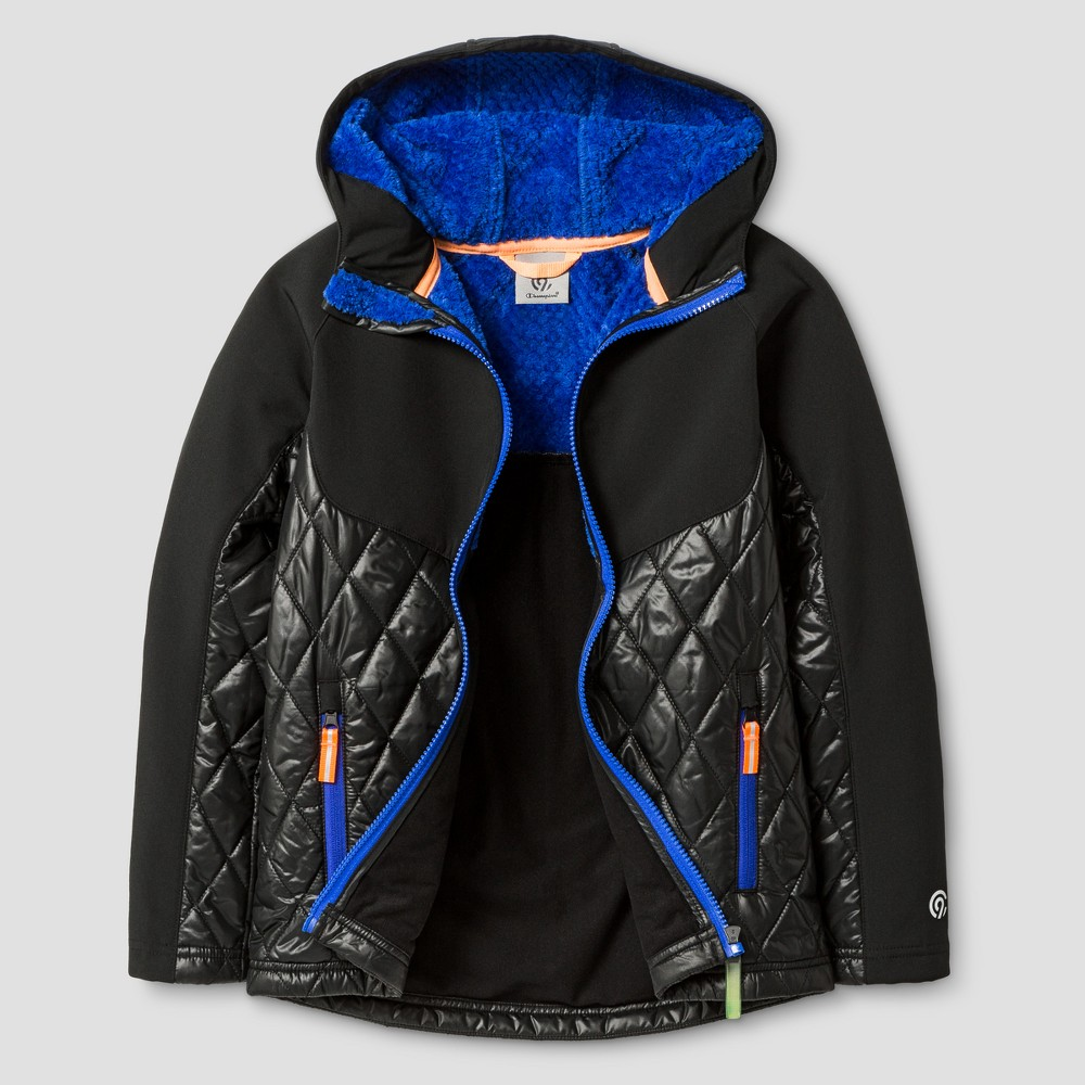 Boys Softshell/Puffer Jacket - C9 Champion Black XL