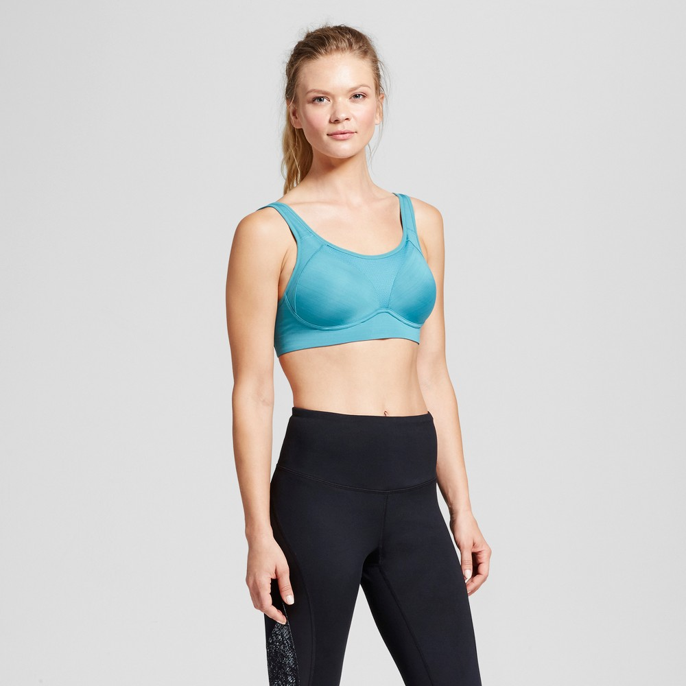 Womens Power Shape Max Support Convertible Sports Bra - C9 Champion - Dark Teal 36B