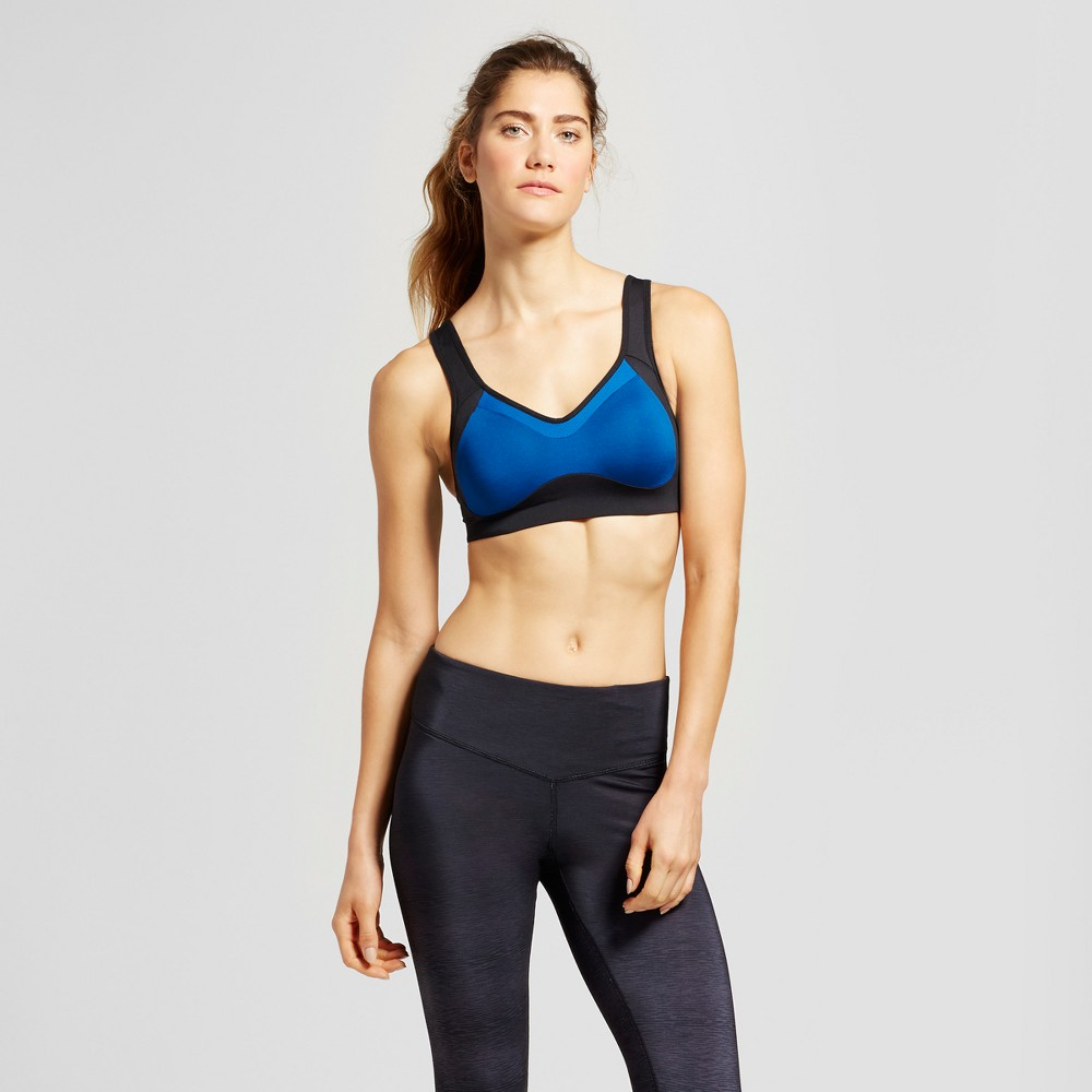 Womens Power Shape Max Support Convertible Sports Bra - C9 Champion - Teal (Blue) 38C, Size: 34DD