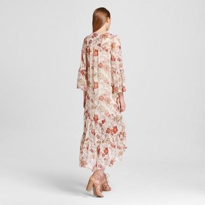 Mossimo kimono maxi dress