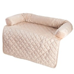 Pegmaker Furniture Protector Dog and Cat Cover with Bolster - Beige