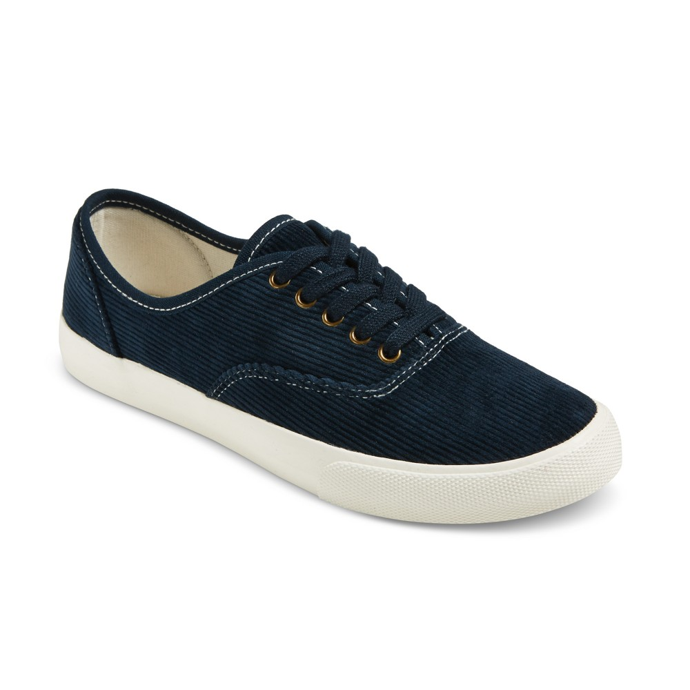 Womens Savannah Corduroy Sneakers - Mossimo Supply Co. Navy (Blue) 8