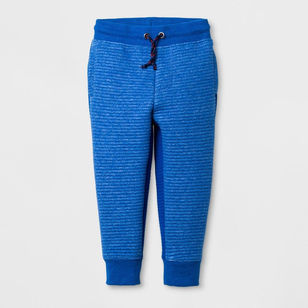 Toddler Boys Streak Jogger Pants - Cat & Jack Blue 3T