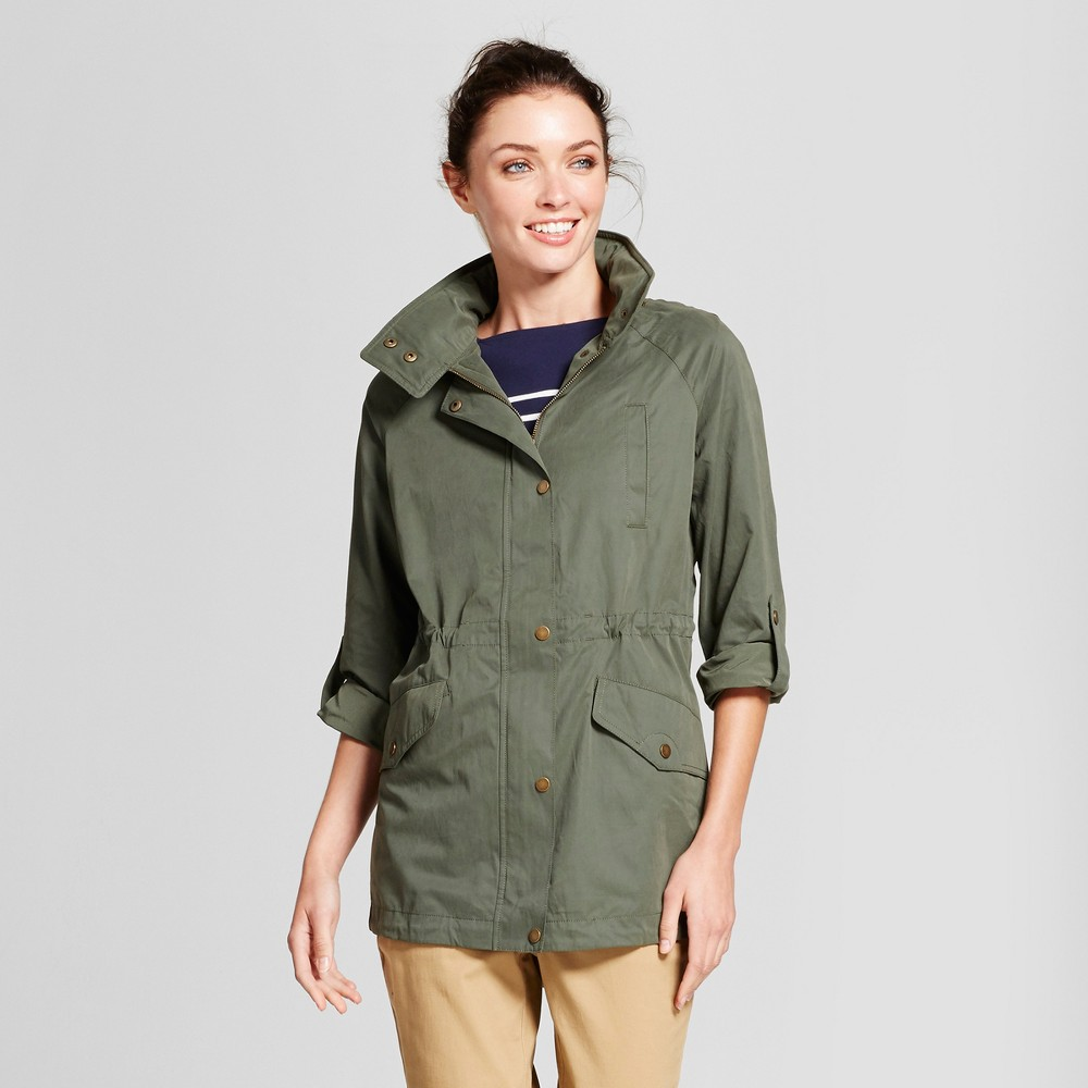 Womens Anorak Jacket - A New Day Olive (Green) S