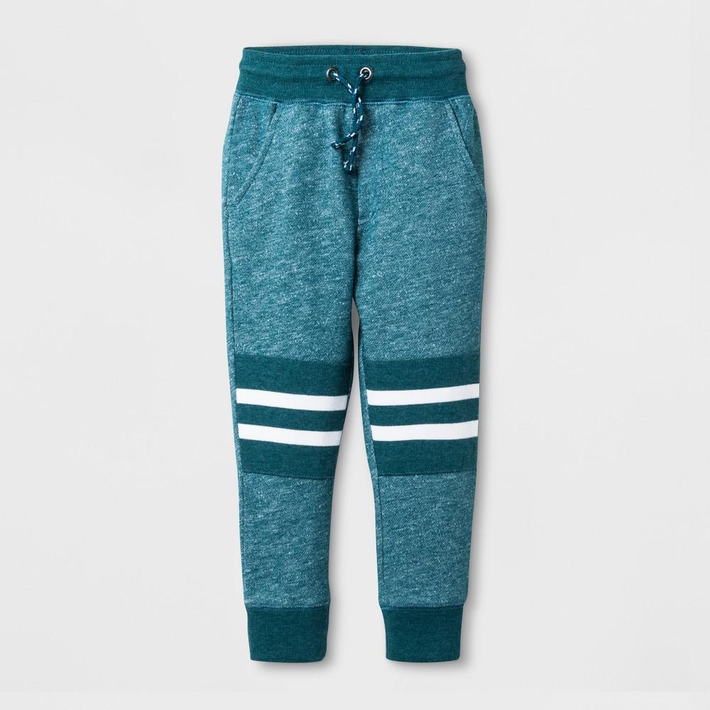 Toddler Boys Botanical Jogger Pants - Cat & Jack Blue 5T