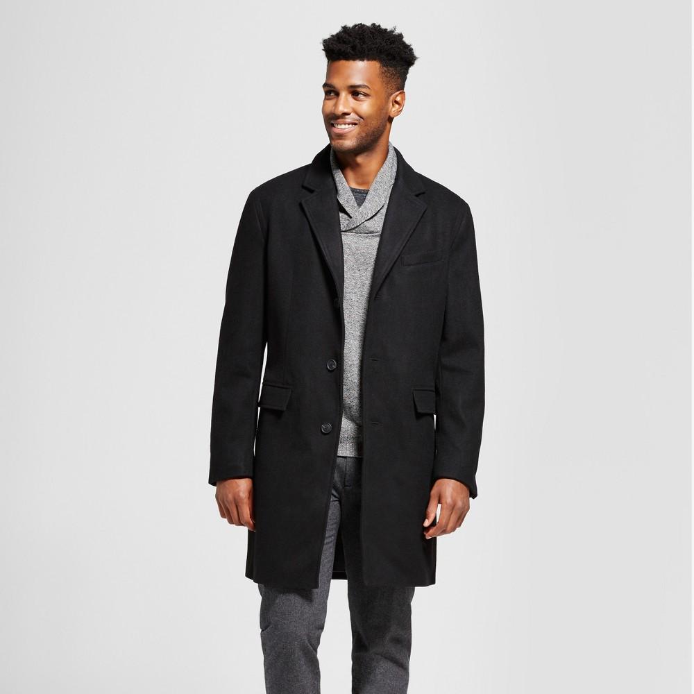 Mens Wool Top Coat - Goodfellow & Co Black Xxl