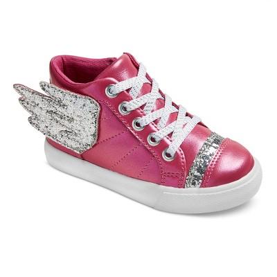 Toddler Girls' Trish High Top Sneakers 7 - Cat & Jack™ - Pink