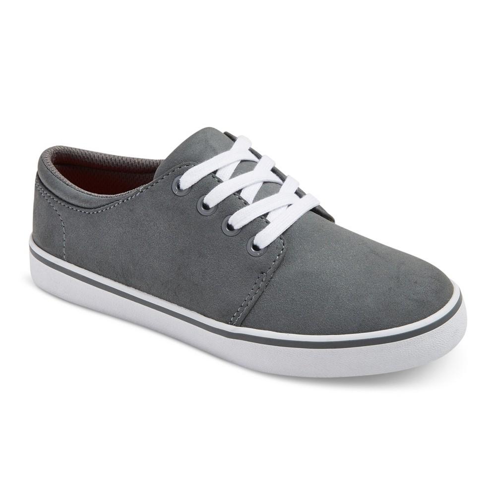 Boys Finn Casual Sneakers - Cat & Jack Gray 13