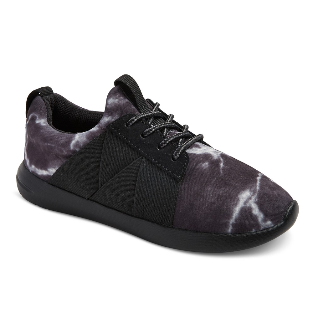 Boys Pierce Slip On Casual Sneakers - Art Class Black 4