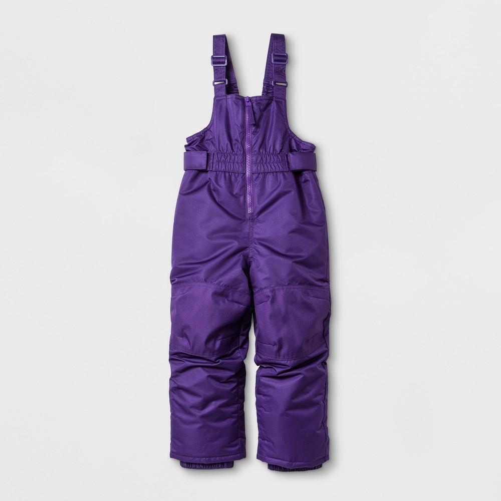 Toddler Girls Snow Bib - Cat & Jack Purple 6X