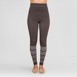 MUK LUKS® Women's Pattern Leggings - Fairisle