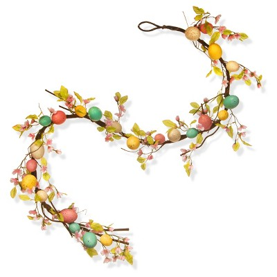 72  Easter Egg Garland - National Tree Company