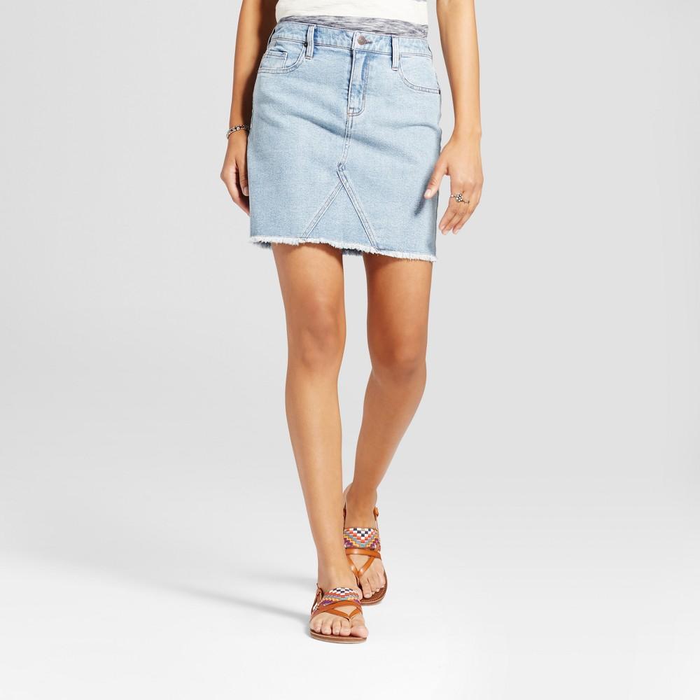 Womens Denim Skirt - Mossimo Supply Co. Medium Wash 12