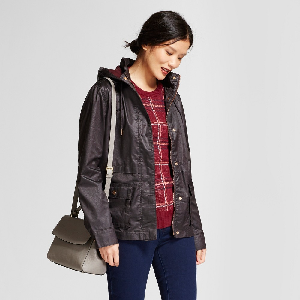Women's Waxed Field Jacket - A New Day Berry (Pink) S