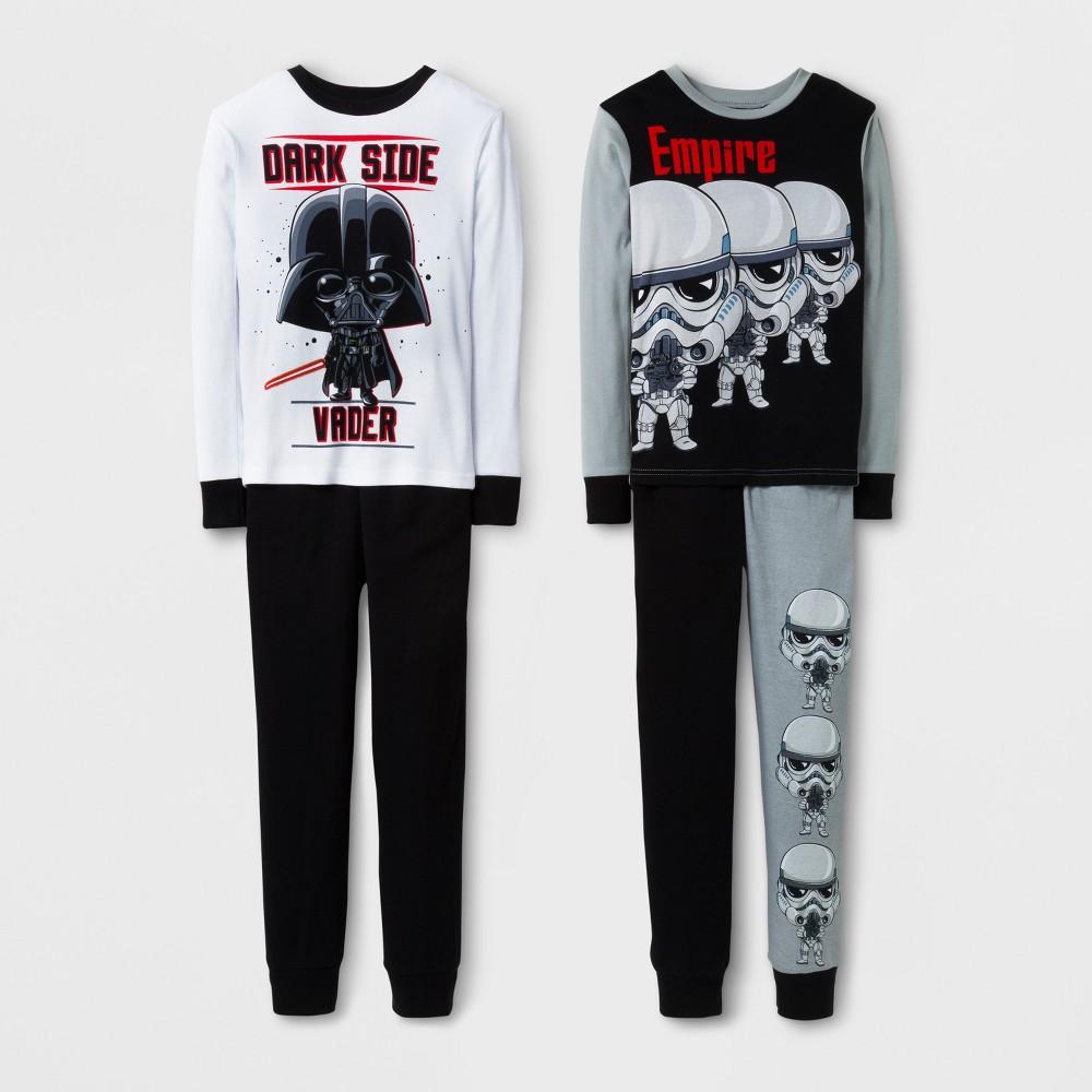 Boys Star Wars Stormtrooper Pajama Set - Black 6