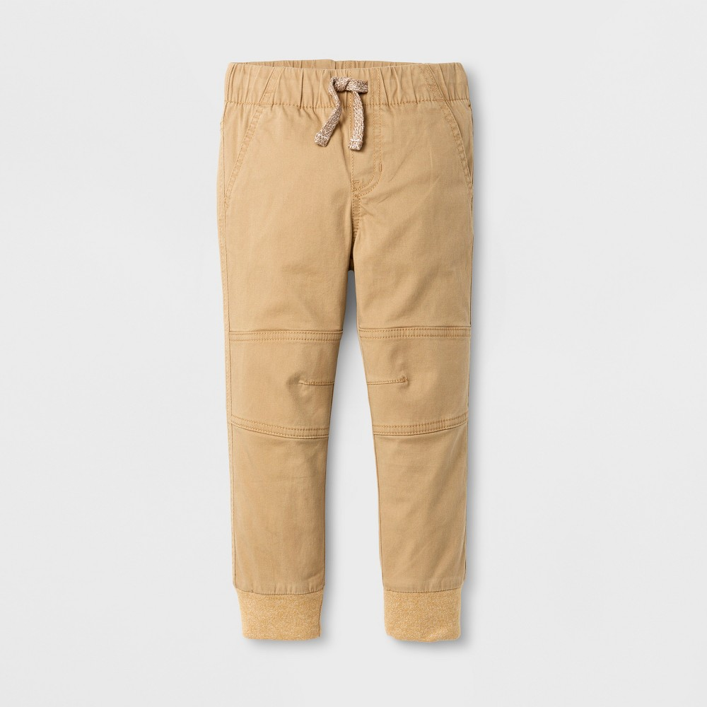 Pull-on Pants Cat & Jack Brown Paper 3T, Toddler Boys