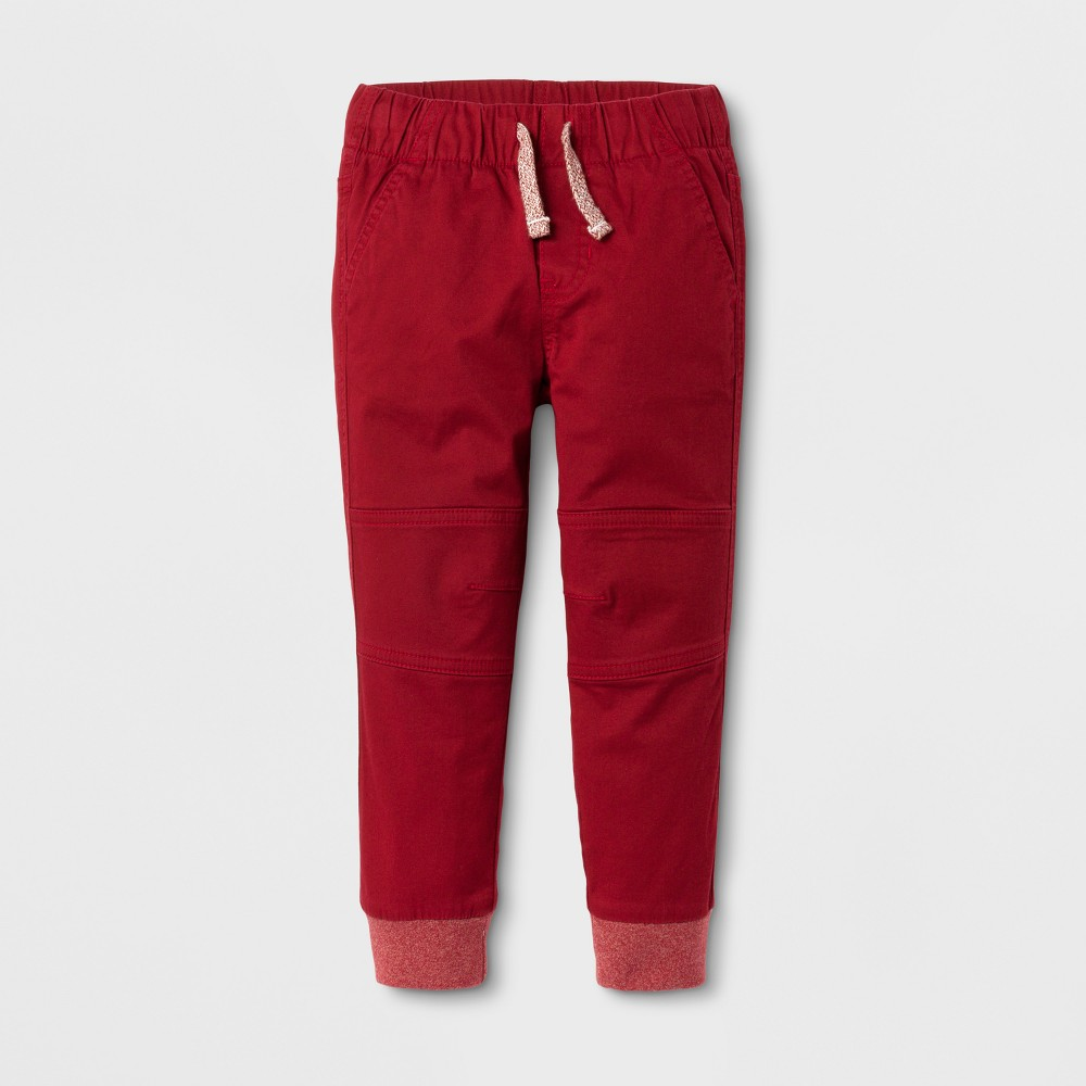 Pull-on Pants Cat & Jack Red Ribbon 5T, Toddler Boys