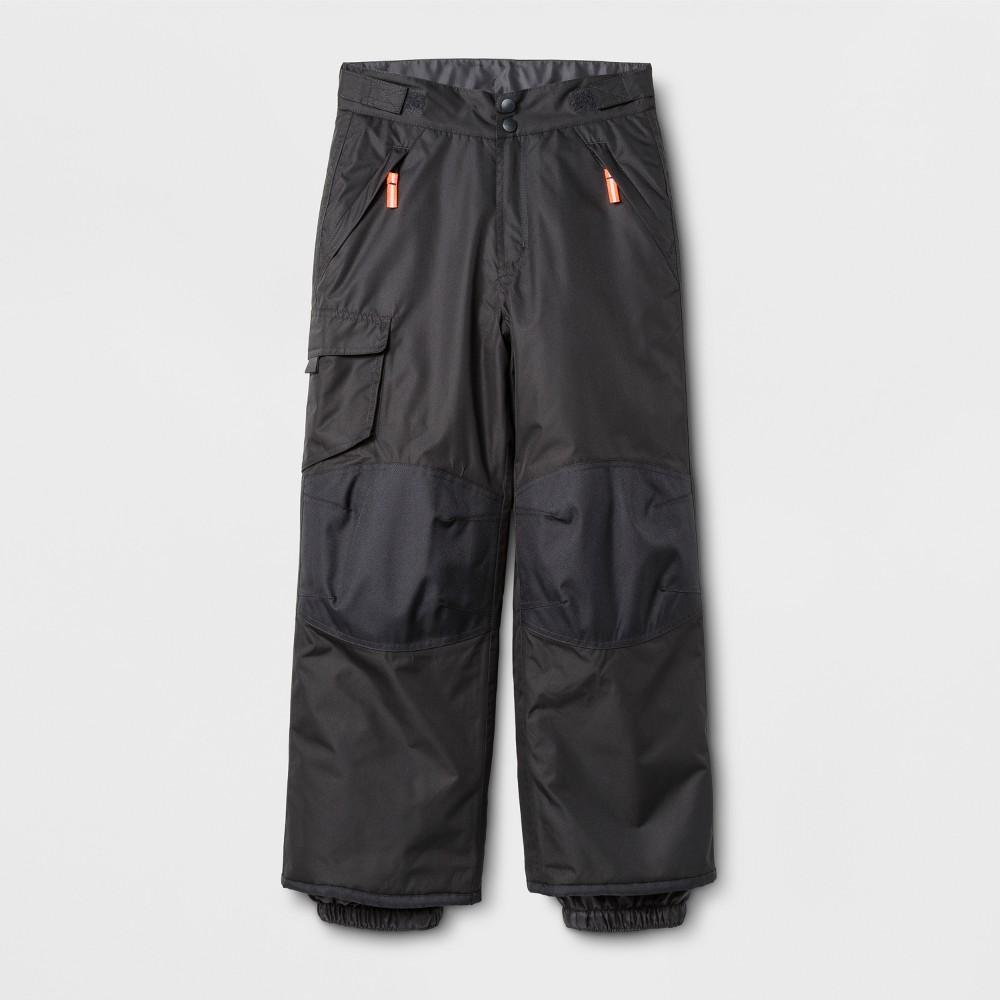 Boys Snow Pants - C9 Champion Black, Size: XS, Gray