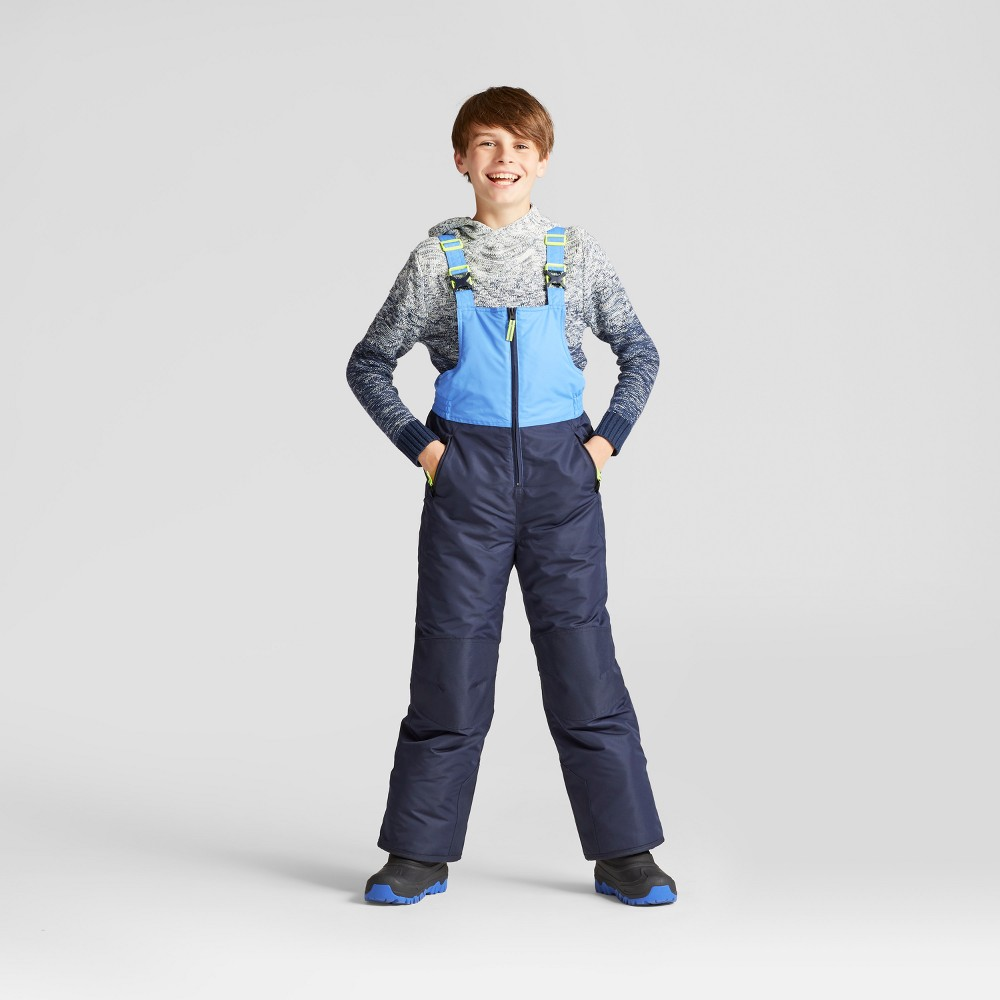 Boys Snow Bibs - C9 Champion Navy (Blue) XL