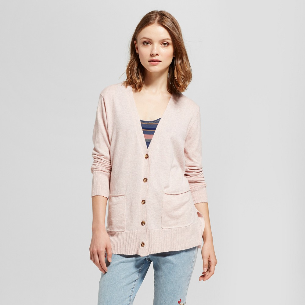 Womens Boyfriend Cardigan - Mossimo Supply Co. Pink L
