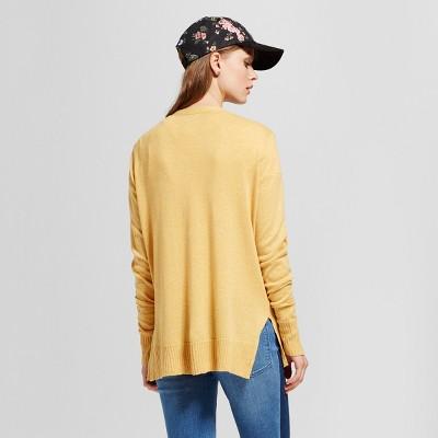 yellow cardigan : Target