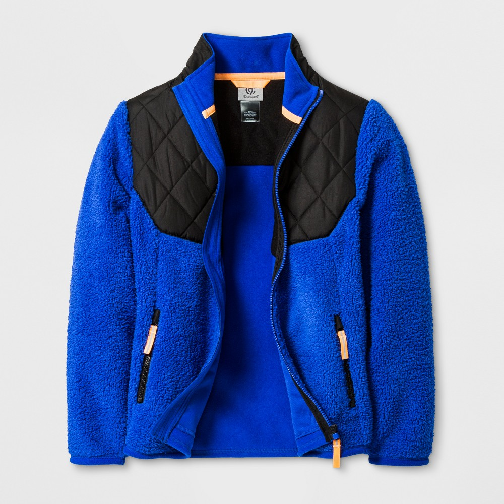 Boys Fleece Jacket - C9 Champion Flight Blue L