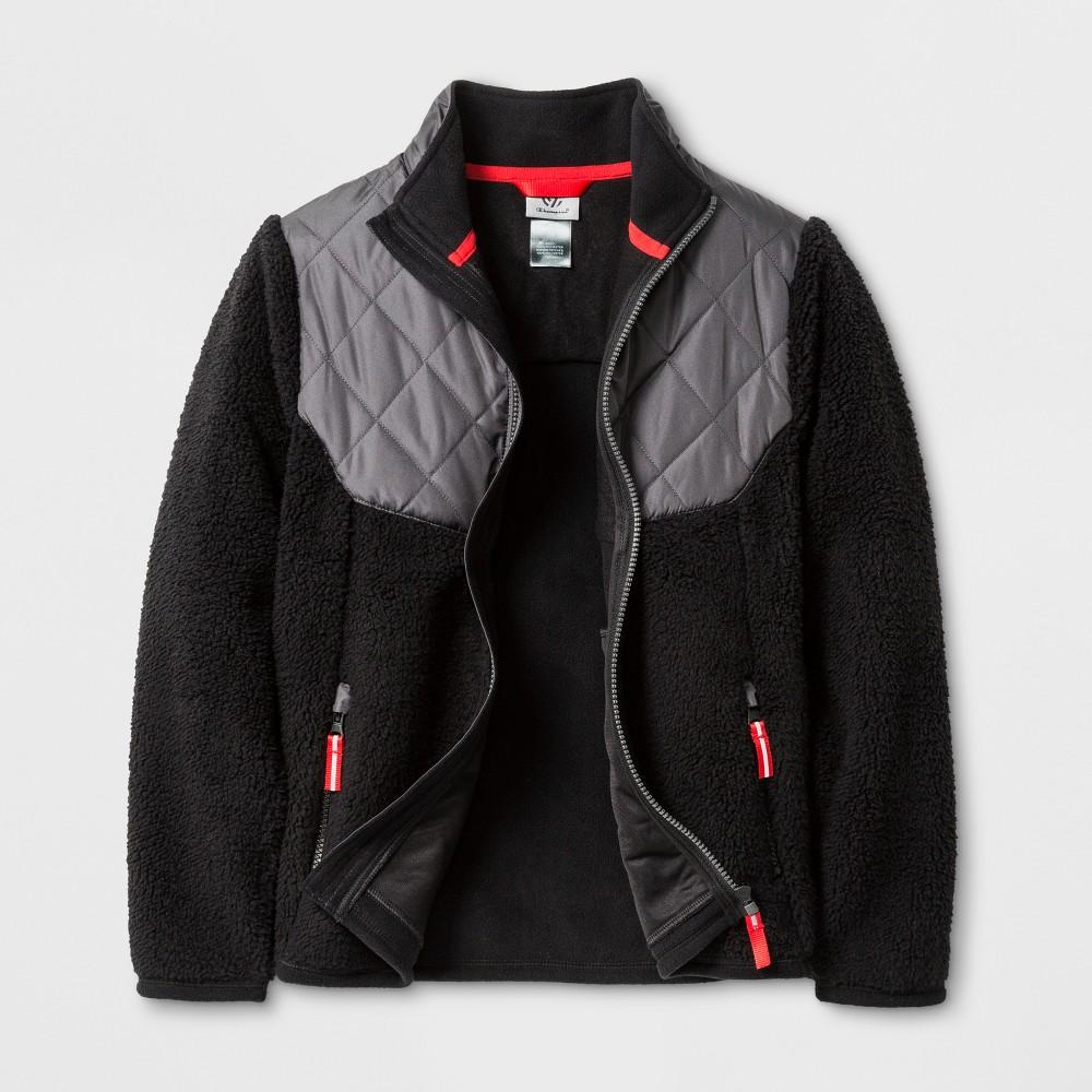 Boys Fleece Jacket - C9 Champion Black XS