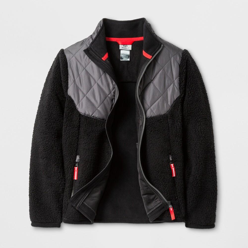 Boys Fleece Jacket - C9 Champion Black M