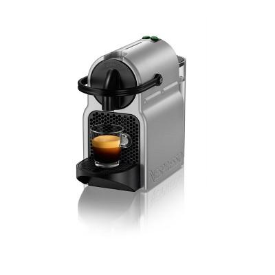 nespresso inissia espresso machine by de 39 longhi silver. Black Bedroom Furniture Sets. Home Design Ideas