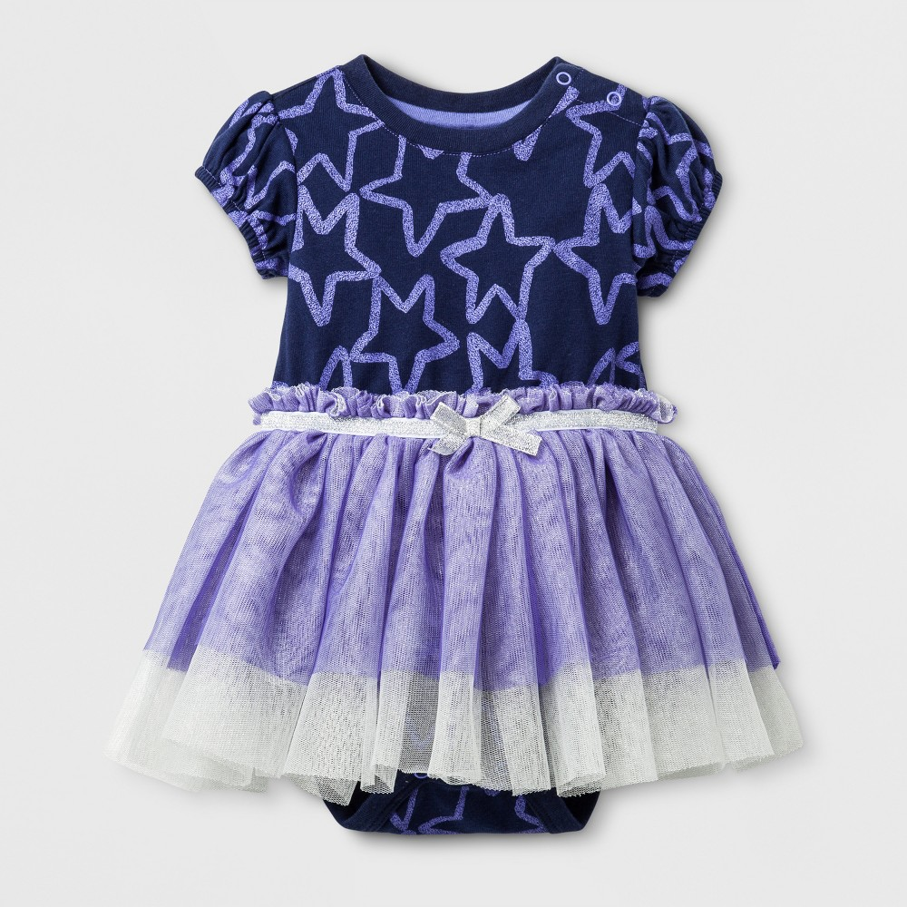 Tutu Dresses Nightfall Blue Cat & Jack 6-9 M, Newborn Girls