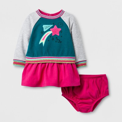 A Line Dresses Fiji Teal Cat & Jack™ 0-3 M