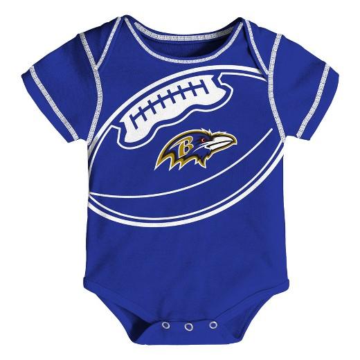 c78f4947e38 ... Baltimore Ravens Baby Boys Awesome Fooball Fan 3pk Bodysuit Set Baltimore  Ravens Newborn ...