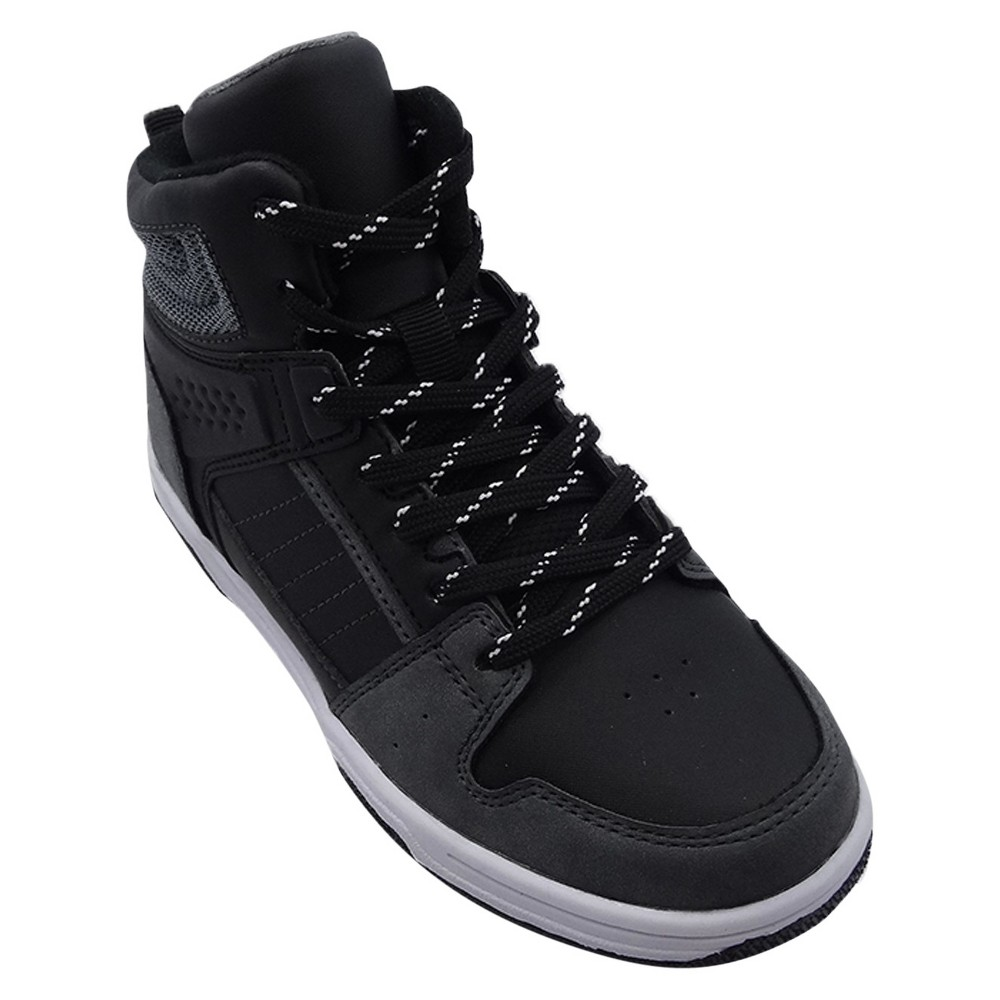 Boys Gunther High Top Sneakers - Art Class Black 6