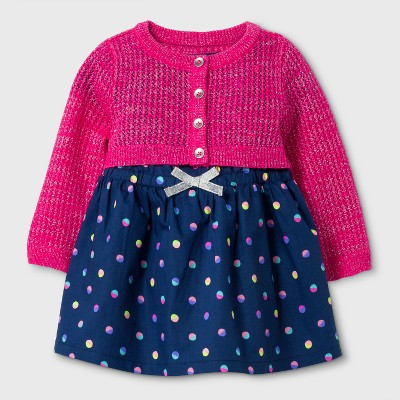 A Line Dresses Nightfall Blue Cat & Jack™ 0-3 M