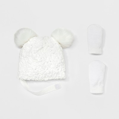 Headwear Sets Cat & Jack™ Cream