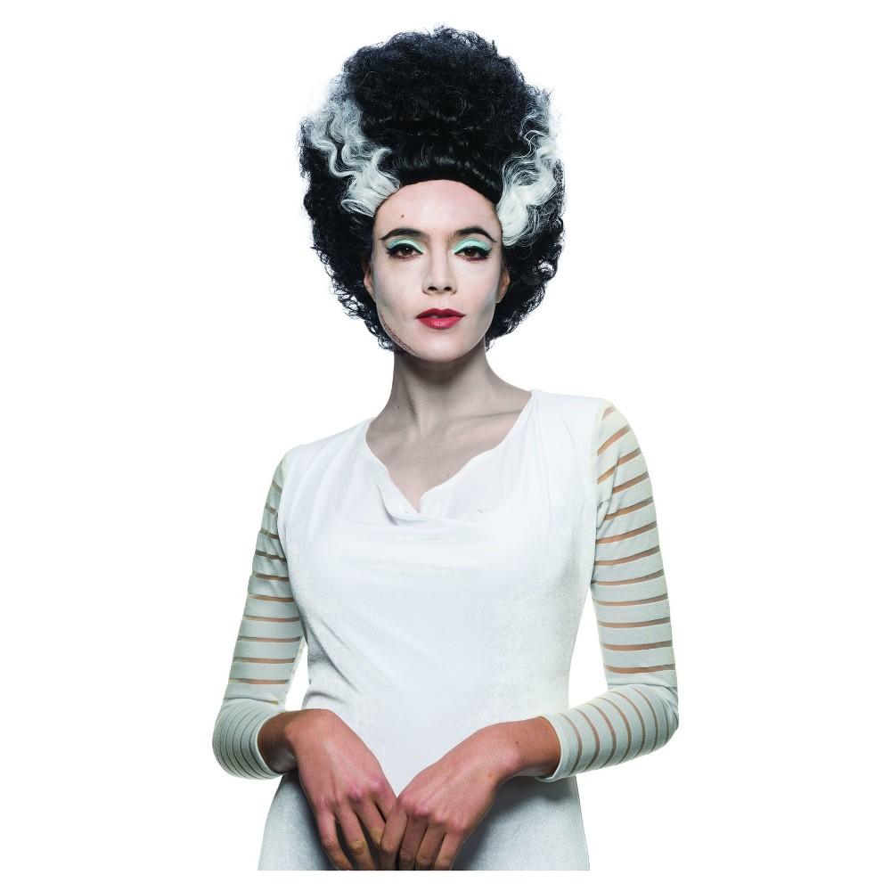 Universal Studios Monsterville Bride of Frankenstein Womens Wig