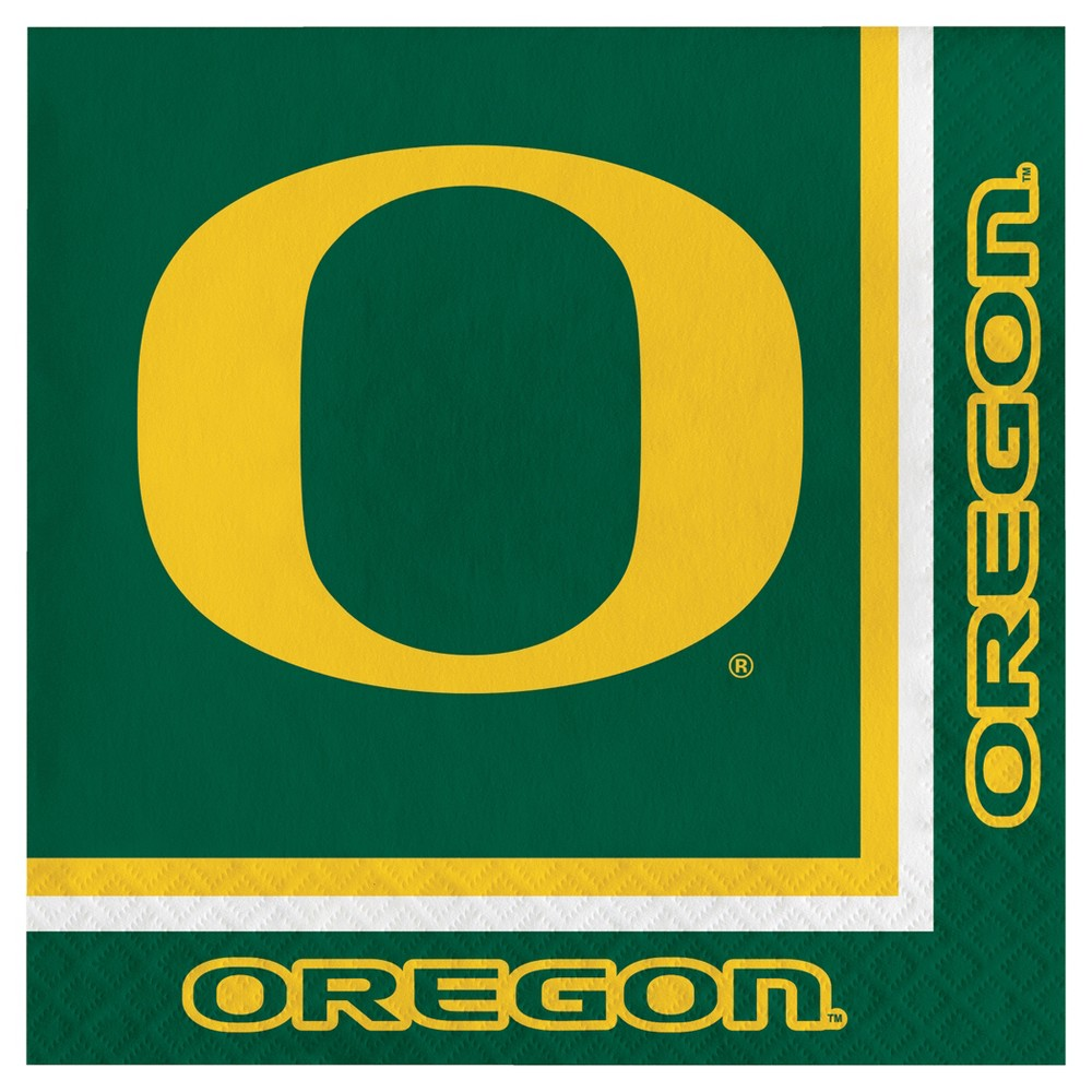 20ct University of Oregon Ducks Napkins