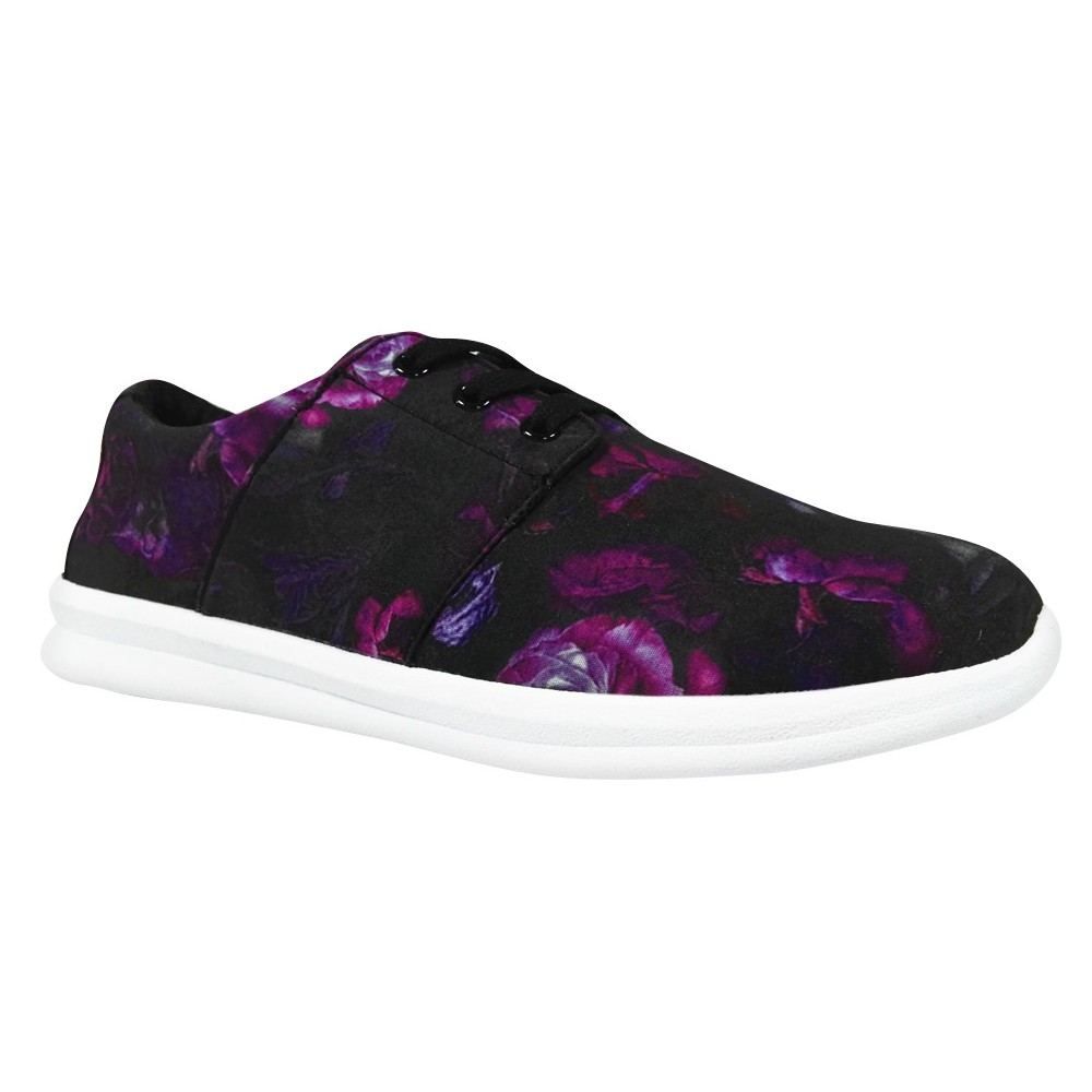 Womens Litzy Floral Sneakers - Mossimo Supply Co. Purple 8