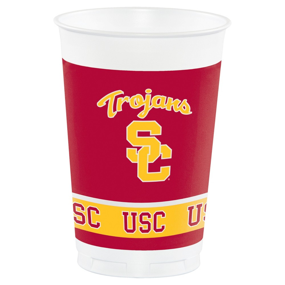 8ct University of Southern California Usc Trojans Plastic Cups