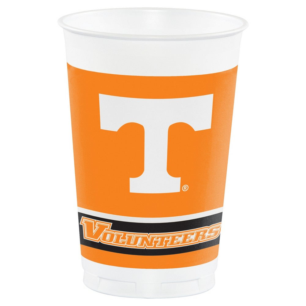 8ct University of Tennessee, Knoxville Plastic Cups