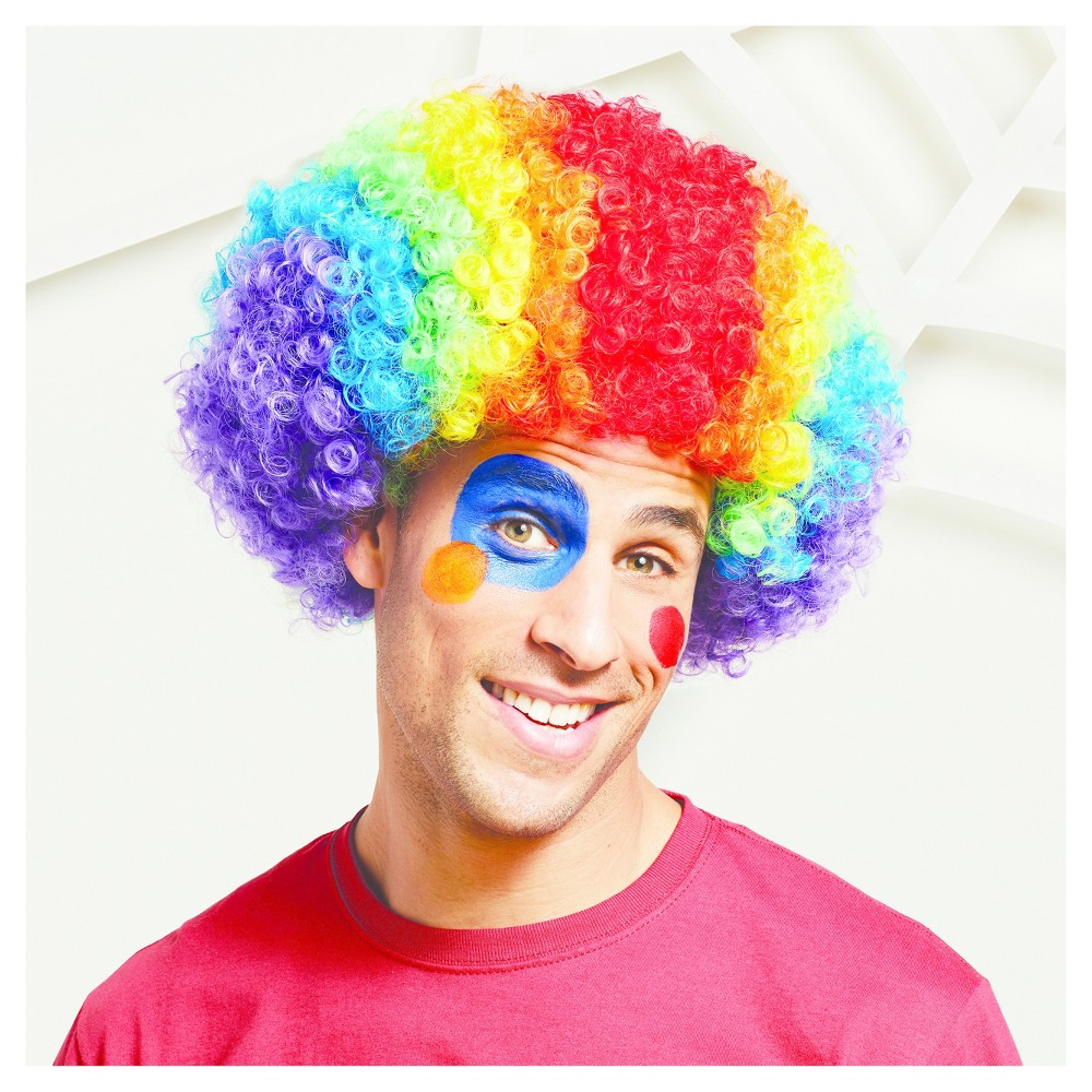 Adult Rainbow Clown Wig - Hyde and Eek! Boutique, Womens