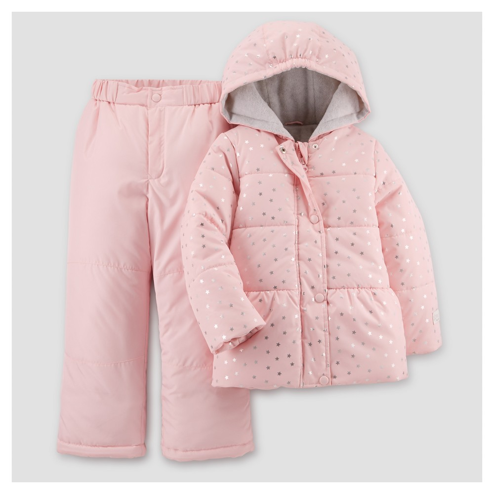 Toddler Girls Outerwear Set - Just One You Made by Carters Pale Pink 2T